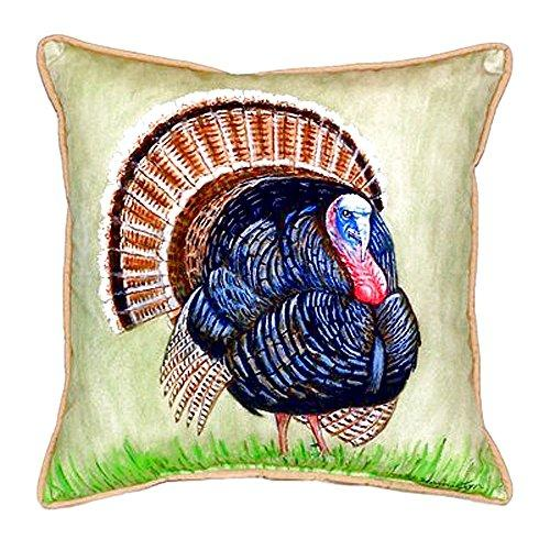Wild Turkey Small Indoor/Outdoor Pillow 12x12