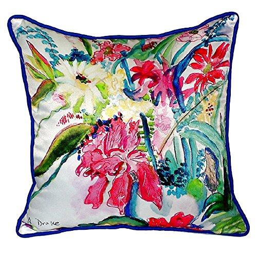 Multi Florals Small Indoor/Outdoor Pillow 12x12