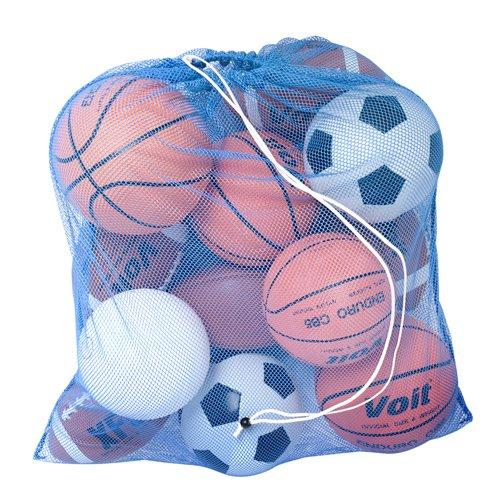 BSN Sports Heavy-Duty Mesh Equipment Bag