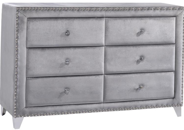 Meridian Furniture Sophie Velvet Dresser