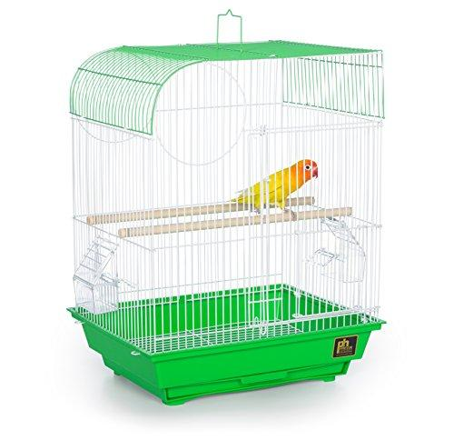 Prevue Pet Products Southbeach Flat Top Bird Cage Lime Green SP50091
