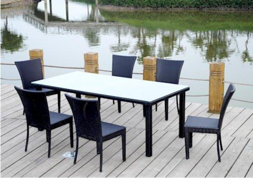Anderson Teak Sheraton 7-Pieces Dining Set [Item # SR-622]