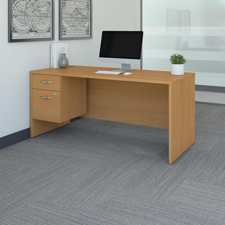 Series C Office Desk With 3/4 Pedestal