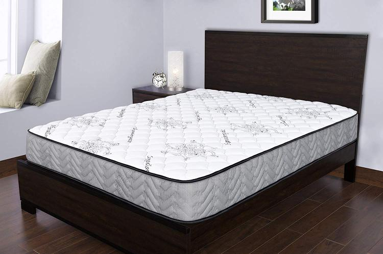 Spectra Orthopedic Mattress  Elements 9.5 Inch medium firm quilted-top mattress