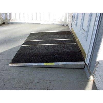 Self Supporting Threshold Wheelchair Ramp