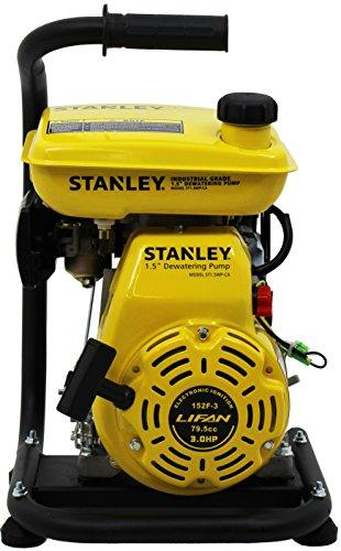 The STANLEY Dewatering Pumps provide the features you need for large and small jobs alike.