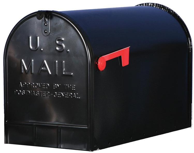 St200B00 Mailbox Rural Blk #3