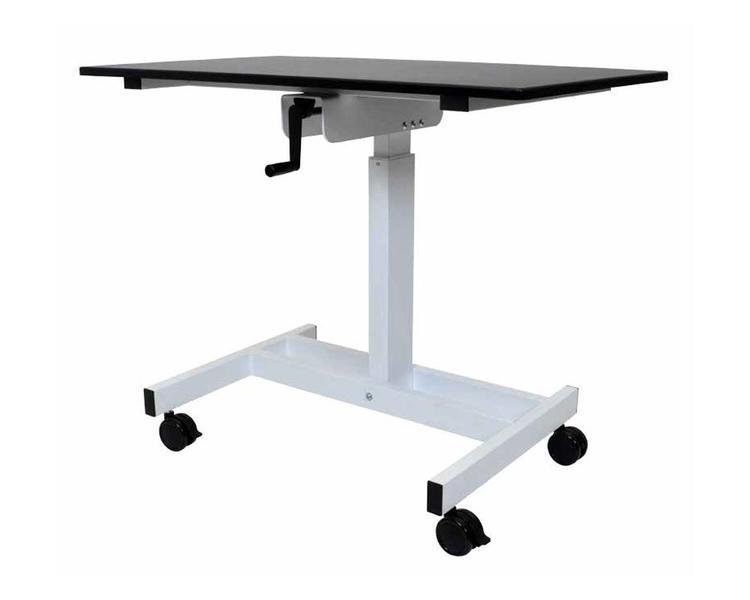 Luxor Single Column Crank Stand Up Desk
