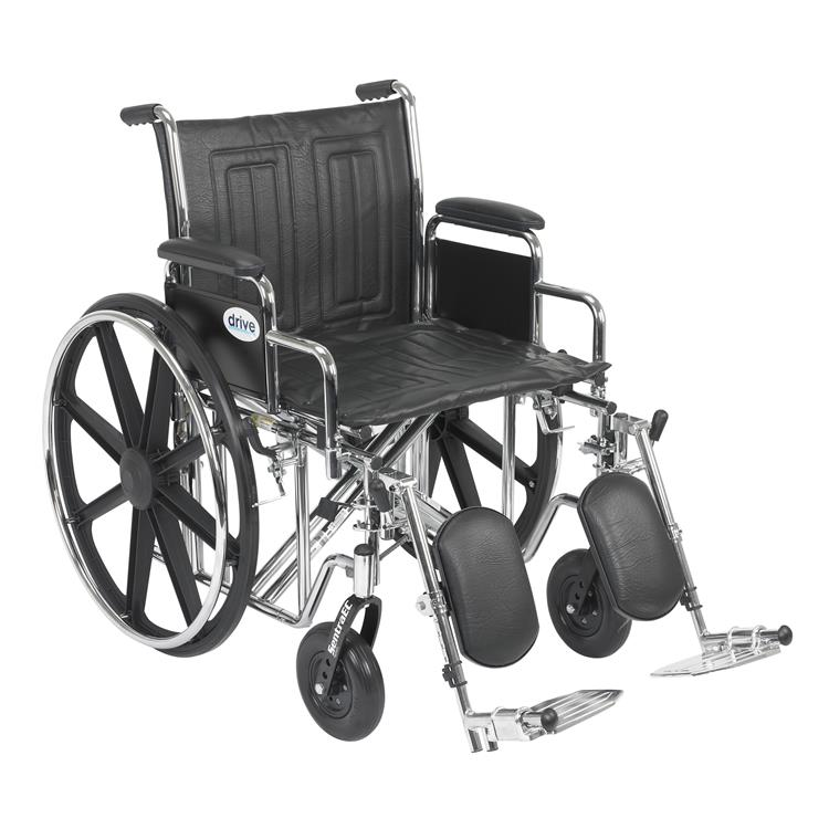 Drive Medical Sentra EC Heavy Duty Wheelchair [Item # ]