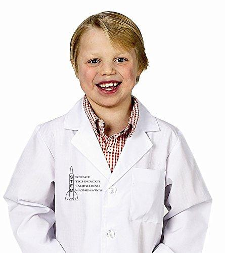 Jr. STEM Lab Coat, 3/4 Length, Size 2/3