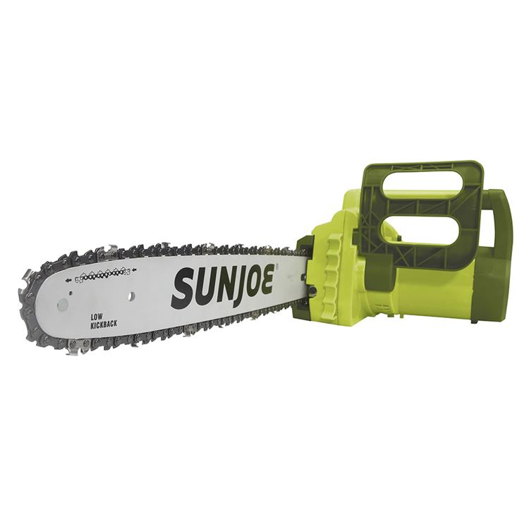 Sun Joe 14-Amp Electric Chain Saw With Kickback Brake Includes Oregon Bar And Chain