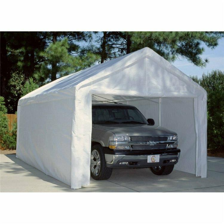 King Canopy 18 Ft x 20 Ft Sidewall Kit with Flaps and Bug Screen Windows