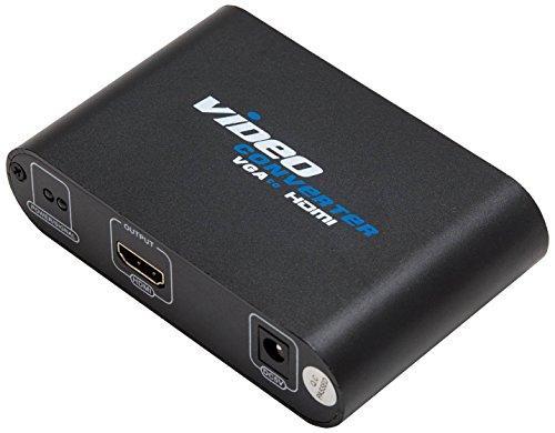 VGA HD15  3.5mm Audio to HDMI Converter