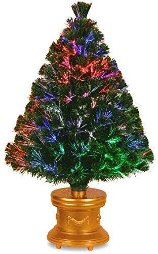 National Tree Fiber Optic Fireworks Evergreen Tree [Item # SZEX7-100L-36-1]