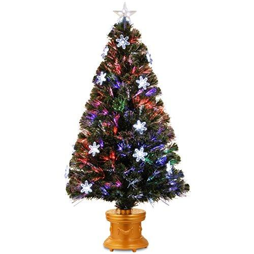 Christmas Trees with Color Changing Lights