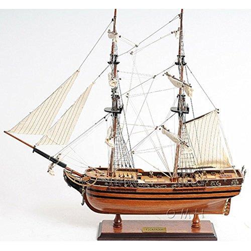 Old Modern Handicrafts El Cazador Ship [Item # T018]