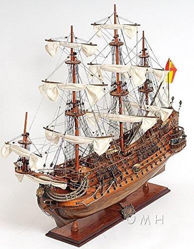 Old Modern Handicrafts San Felipe Exclusive Edition Model Boat [Item # T063A]