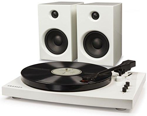 T100 TURNTABLE SYSTEM IN WHITE