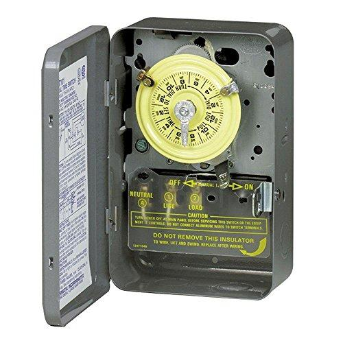 Intermatic 208-277-Volt DPST 24 Hour Mechanical Time Switch