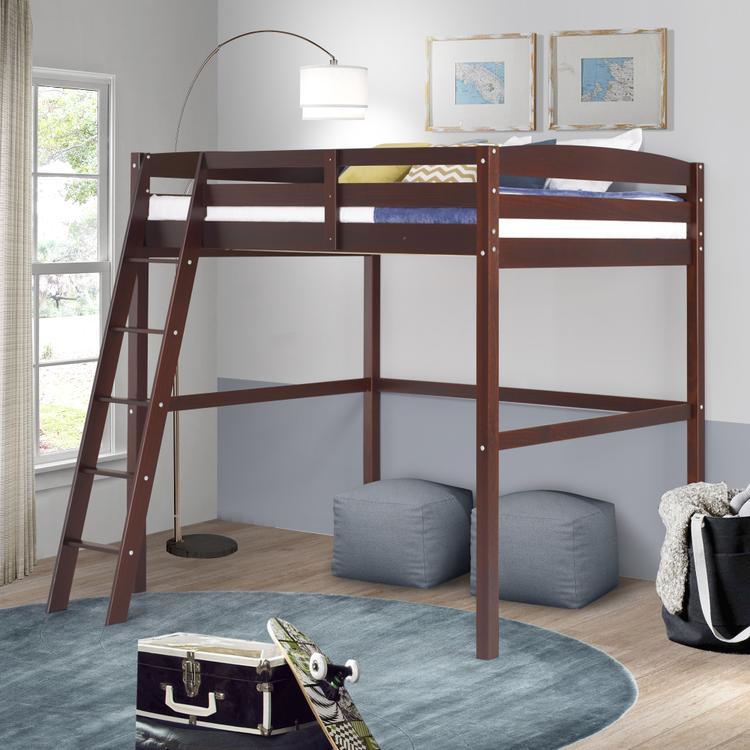 Camaflexi Concord Full Size High Loft Bed [Item # T1402F]