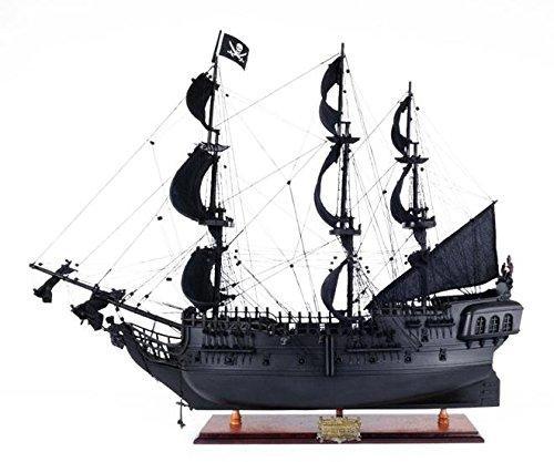 Old Modern Handicrafts Black Pearl Pirate Ship