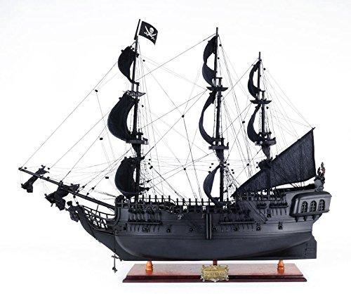 Old Modern Handicrafts Black Pearl Pirate Ship Medium