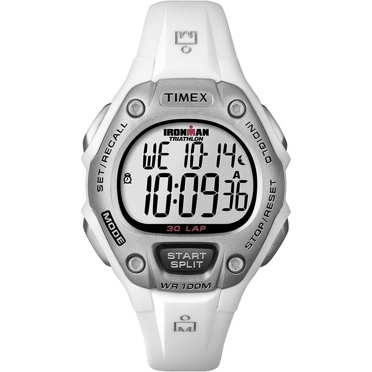 Timex Ironman 30-Lap Mid Size Watch - White