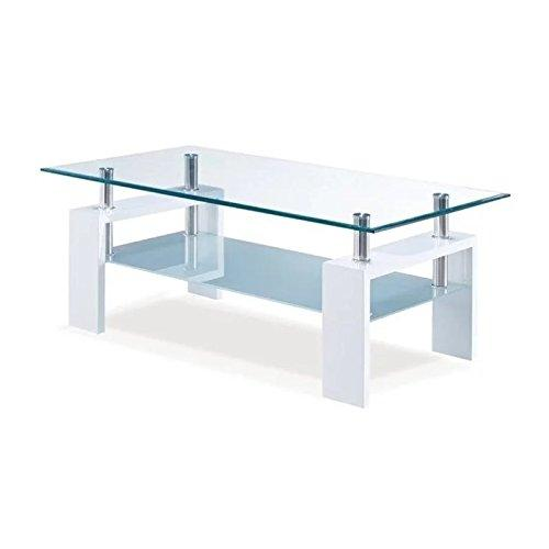 Global Furniture Coffee Table Glossy White