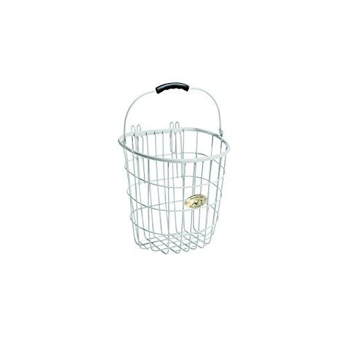 Surfside White Rear Pannier Basket w/ Hooks