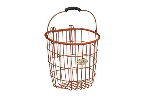Surfside Rear Wire Pannier Basket, Orange