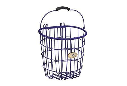 Surfside Rear Wire Pannier Basket, Purple