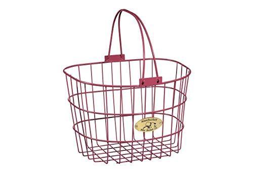 Surfside Adult Wire D-Shape Basket, Pink