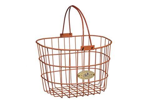 Surfside Adult Wire D-Shape Basket, Orange