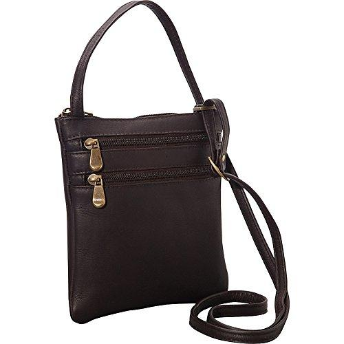 Two Zip Crossbody Minibag