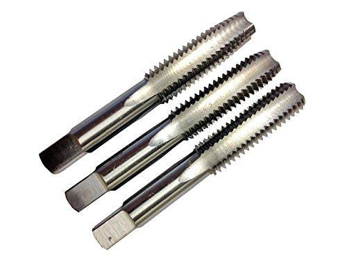 M12 x 1.75 HSS Metric 4 Flute Hand TapSet , Qualtech, T/AS12X1.75