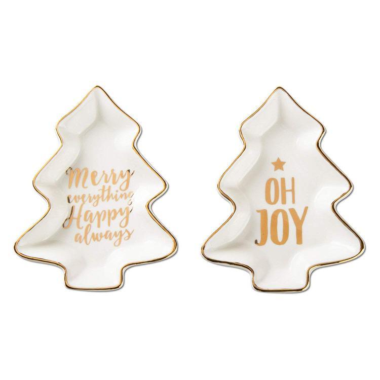 TAG Merry & Joy Plate Set Of 2