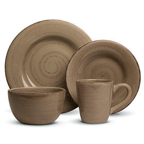 Sonoma 16 pc Dinnerware Set - Tan