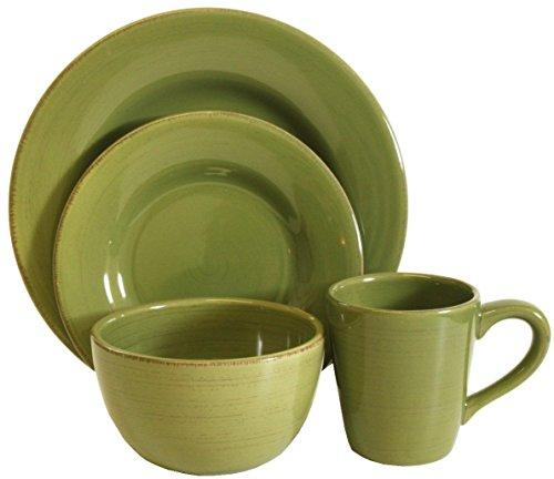 TAG Sonoma Dinnerware Collection Celadon 16pc