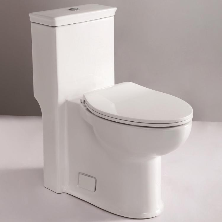 EAGO TB377 ADA Compliant One Piece Single Flush Toilet