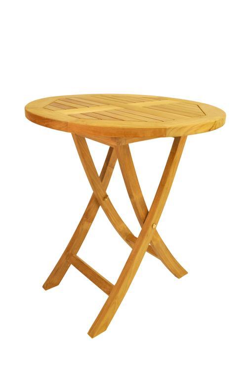 Anderson Teak Bahama Round Bistro Folding Table