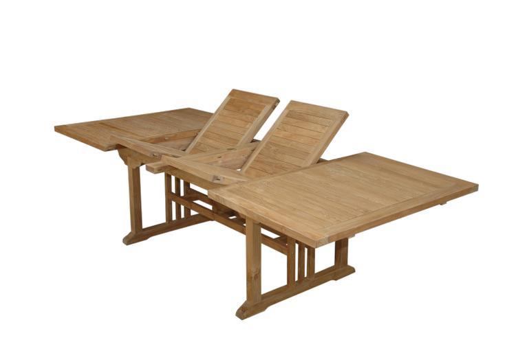 Anderson Teak Sahara Rectangular Double Ext. Table