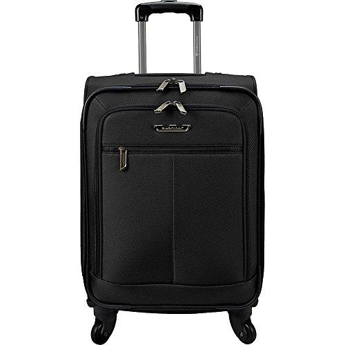 Traveler's Choice Carry-On Spinner Luggage, Black