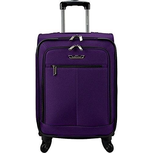 Traveler's Choice Carry-On Spinner Luggage, Eggplant