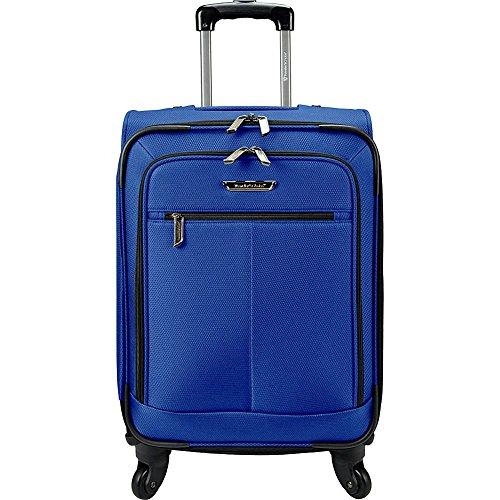 Traveler's Choice Carry-On Spinner Luggage, Cobalt Blue