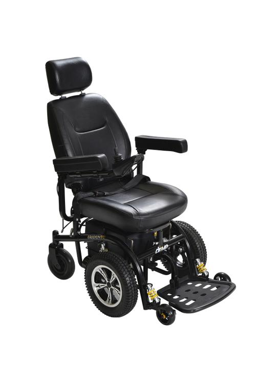 Drive Medical Lightweight Expedition Transport Wheelchair with Hand Brakes [Item # TC2A]