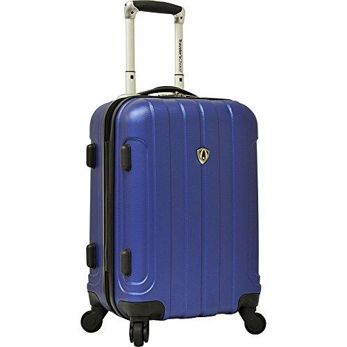 Traveler's Choice Cambridge Carry-on Spinner Luggage, Blue