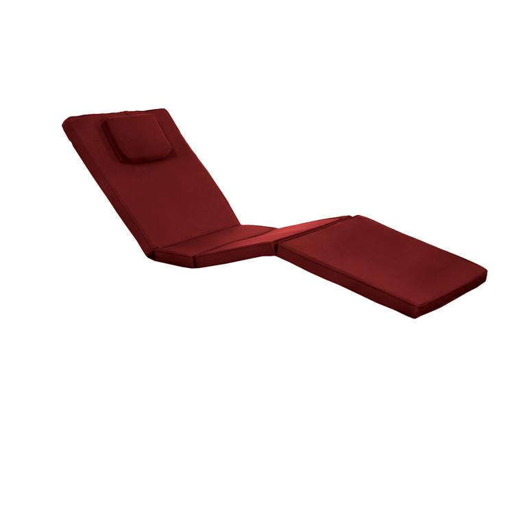All Things Cedar Chaise Lounger Cushion, Red