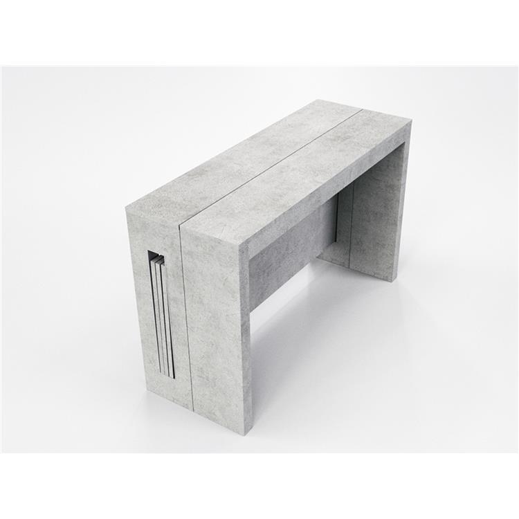 Casabianca Furniture Erika Console with Grain Melamine