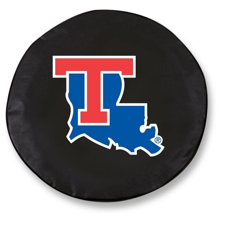 Louisiana Tech Tire Cover