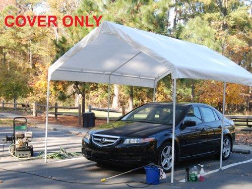 King Canopy White Drawstring Cover